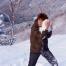 2003년 황령산 눈 내리던날.운철